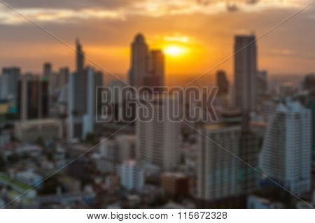 Blurred Abstract City Background .blur Construction Structure Backgrounds Concept.