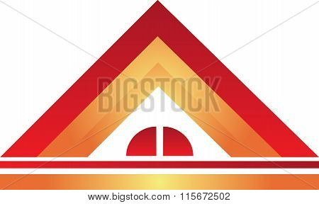 Real Estate Logo House