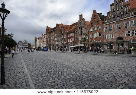 Am Sande Square, Luneburg, Germany