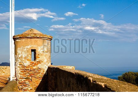 Watchtower of Castillo de Gibralfaro