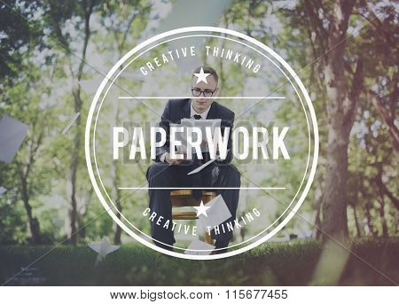Paperwork Notes Archive Administration Job Letters Concept