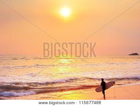 Surfing In Tropics