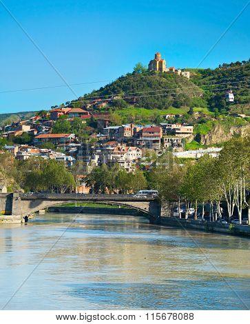 Tbilisi Old Town. Georgia