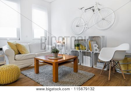 Hipster Style Room With Good Atmosphere