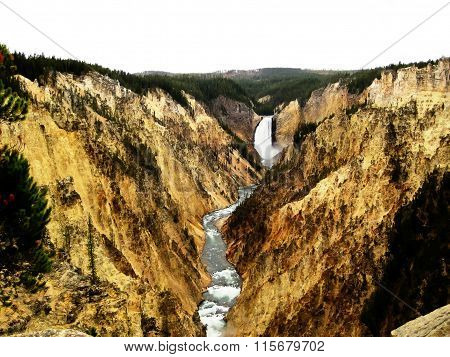Grand Canyon of the Yellowstone (USA)
