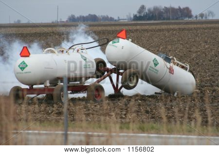 Anhydrous Ammonia Spill