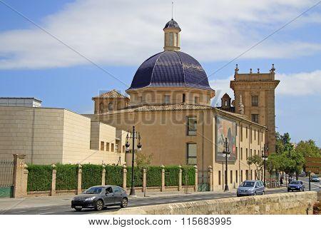 Valencia, Spain - August 26, 2012: Museum Of Fine Arts Of Valencia