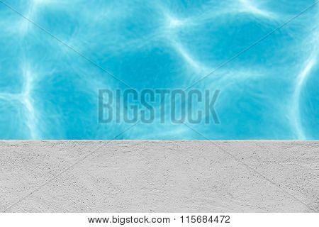 Edge Of Swimming Pool