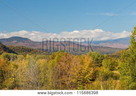 White Mountain National Forest In Autumn, New  Hampshire