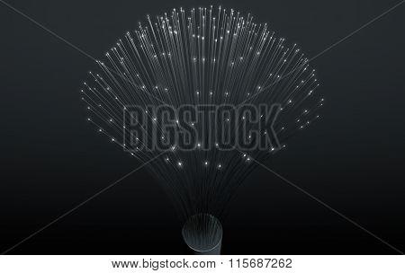 Fiber Optics Close