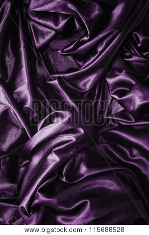 Purple Silk Texture