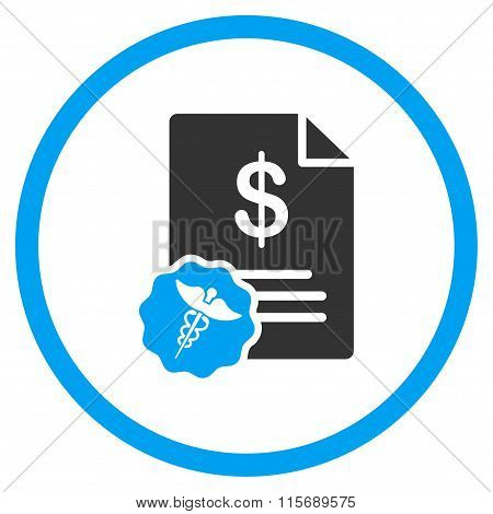 Medical Bill Flat Icon