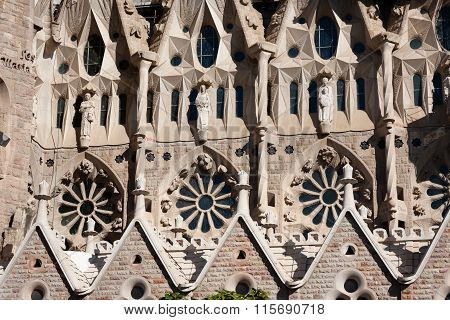 Barcelona, Sagrada Familia ornaments