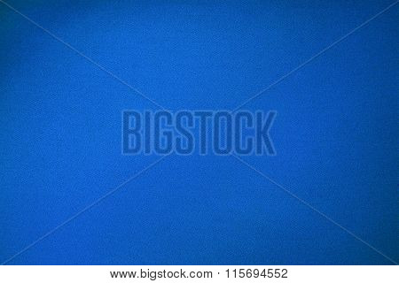 Blue Billiards Cloth Color Texture Close Up