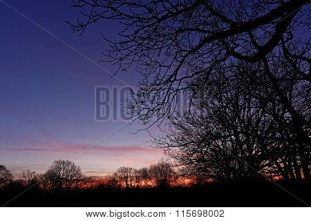 Colorful Dawn Sky