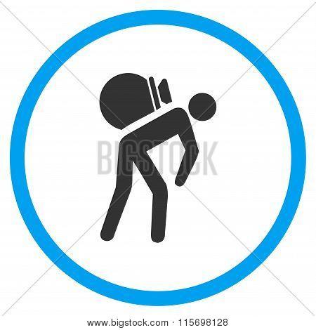 Porter Job Circled Icon