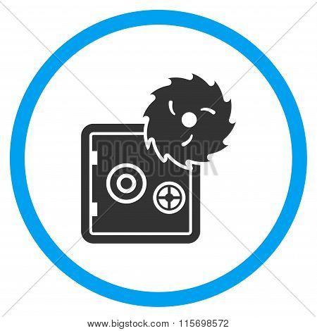Safe Breaking Circled Icon