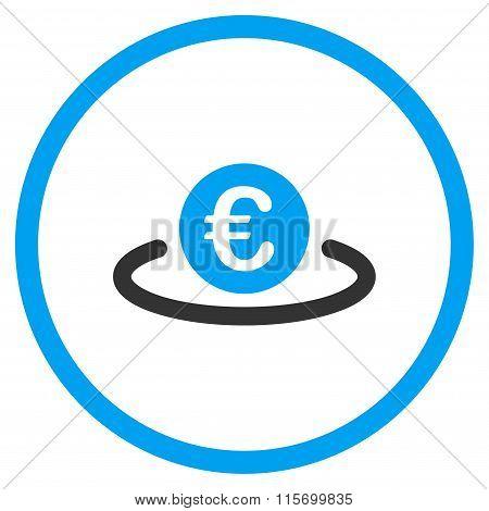 Euro Deposit Rounded Icon