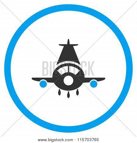 Cargo Plane Rounded Icon