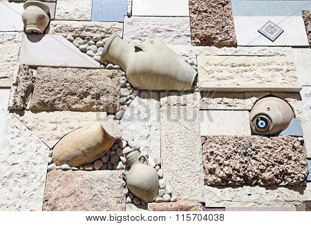 Decoration A House Wall