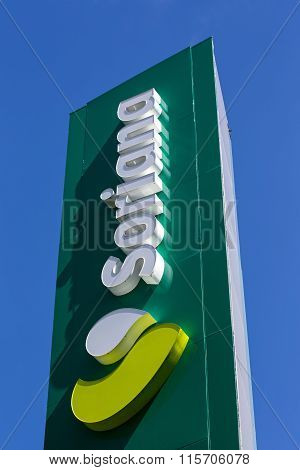 Sign Of Supermarket Chain Soriana