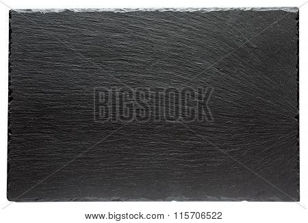 Slate stand isolated on a white background.
