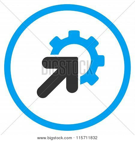 Integration Rounded Icon