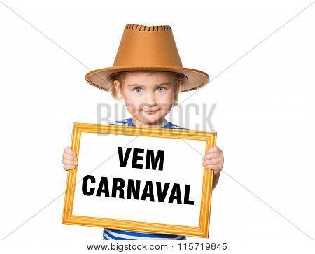 Text  Vem Carnaval.