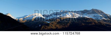 Tendenera Mountains in Tena Valley, Panticosa, Aragon, Huesca, Spain.