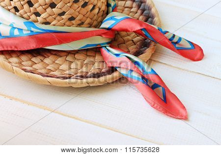 Artisan straw hat