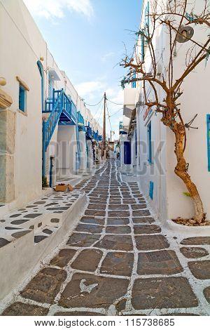 In The Isle Of Greece Antorini Europe Old