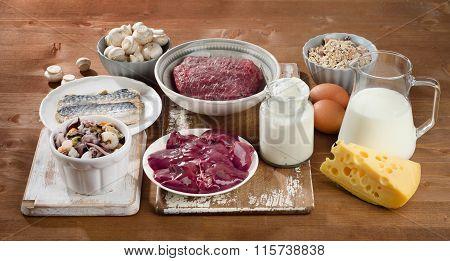 Foods Highest In Vitamin B12 (cobalamin).