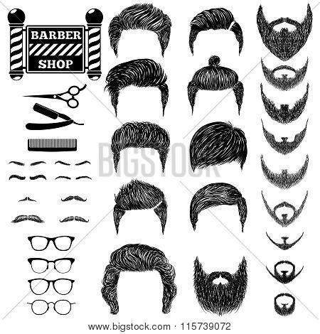 barber set
