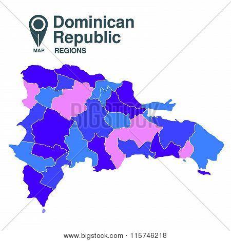 Dominican Republic Map
