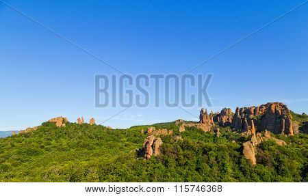 Belogradchik Rocks In The Early Morning, Bulgaria