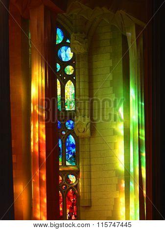 Sagrada Familia mystic colors