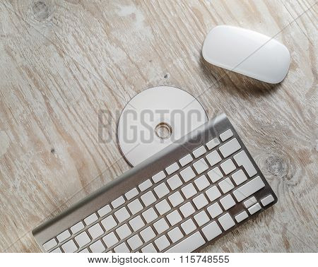Mouse, Keyboard and CD