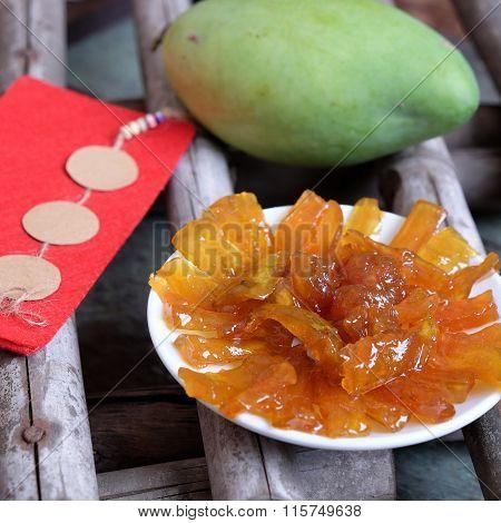 Vietnamese Food, Mango Jam, Vietnam Tet