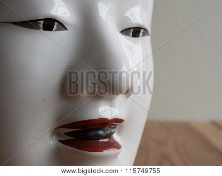 Traditional Japanese Theater Masks