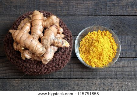 Turmeric Powder, Spice, Healthy Food