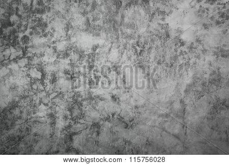 Finishing Wall Of Polished Concrete Surface