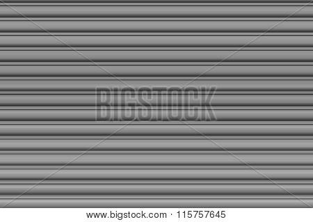 Light grey garage door