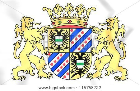 Groningen Province Coat Of Arms, Netherlands.