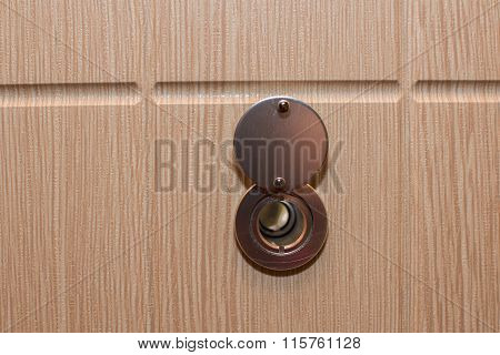 Peephole on the door