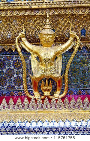 Demon In The Temple Bangkok Asia   Thailand