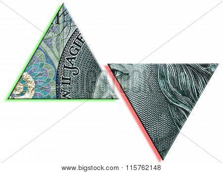 Polish Zloty Or Pln Increase And Drop.