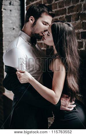 Sensual Kiss.
