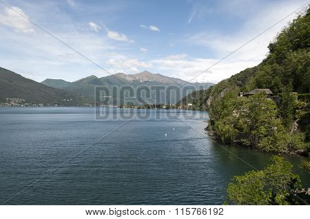 View Of Lake In Varese