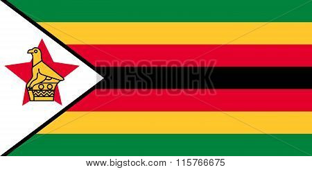 Standard Proportions For Zimbabwe Flag