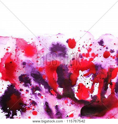 Watercolor abstract illustration. Abstract background.
